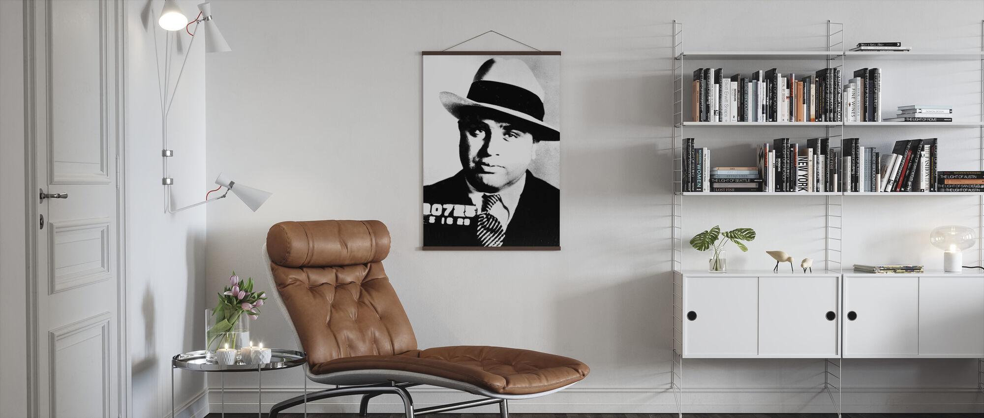 Al Capone - Poster - Wohnzimmer
