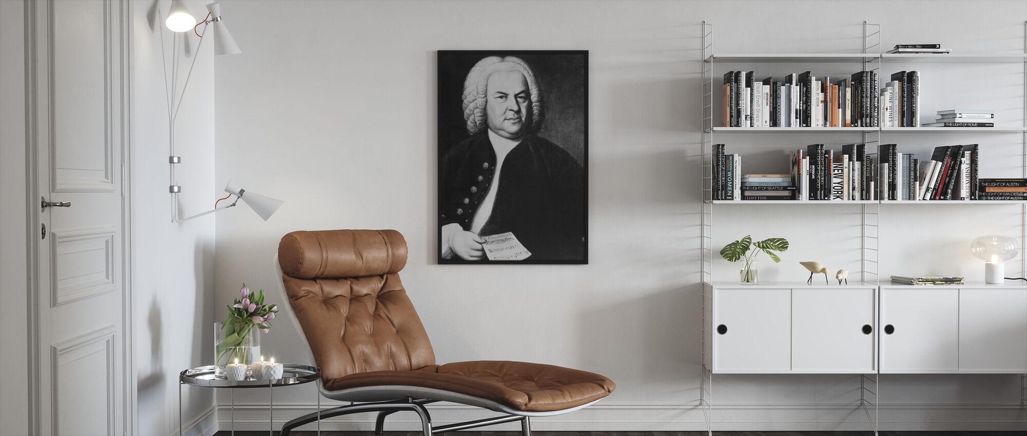 Johann Sebastian Bach - Framed print - Living Room