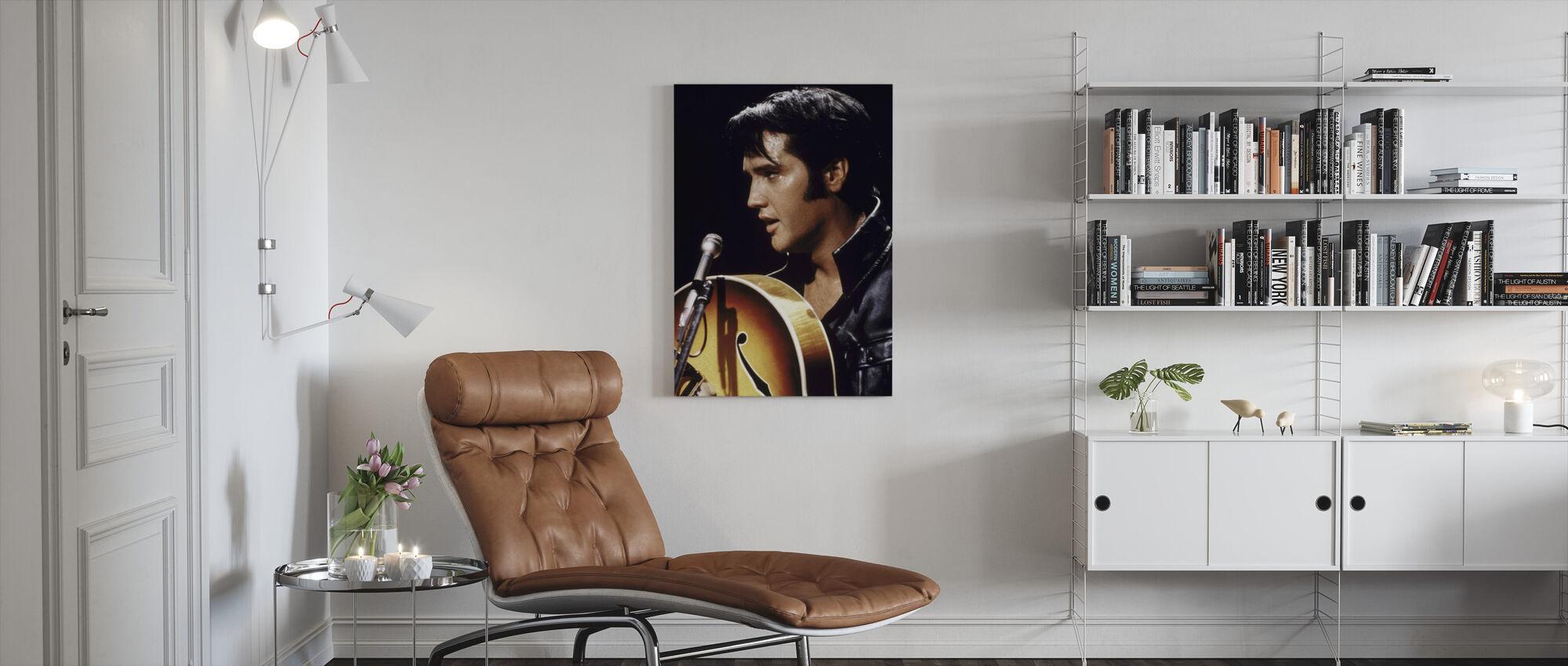 Elvis - Canvas print - Living Room
