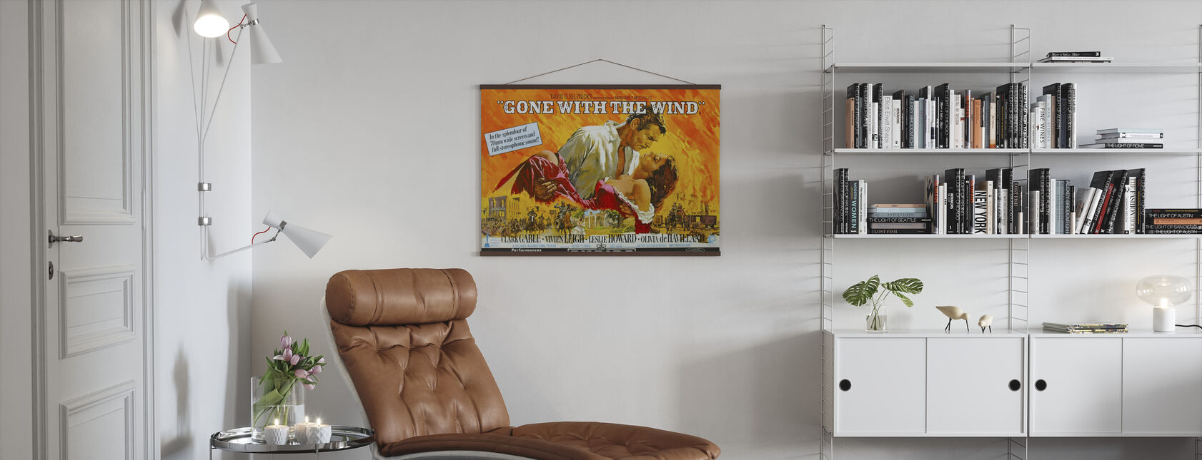 Tatt av vinden - Plakat - Stue