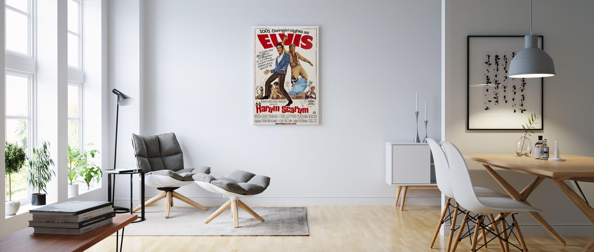 Harum Scarum - Canvas print - Living Room