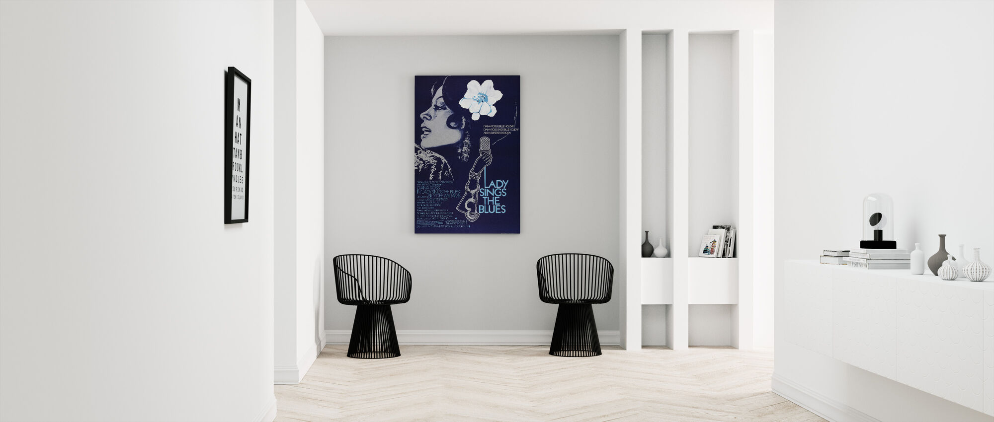 Lady Sings the Blues - Canvas print - Hallway