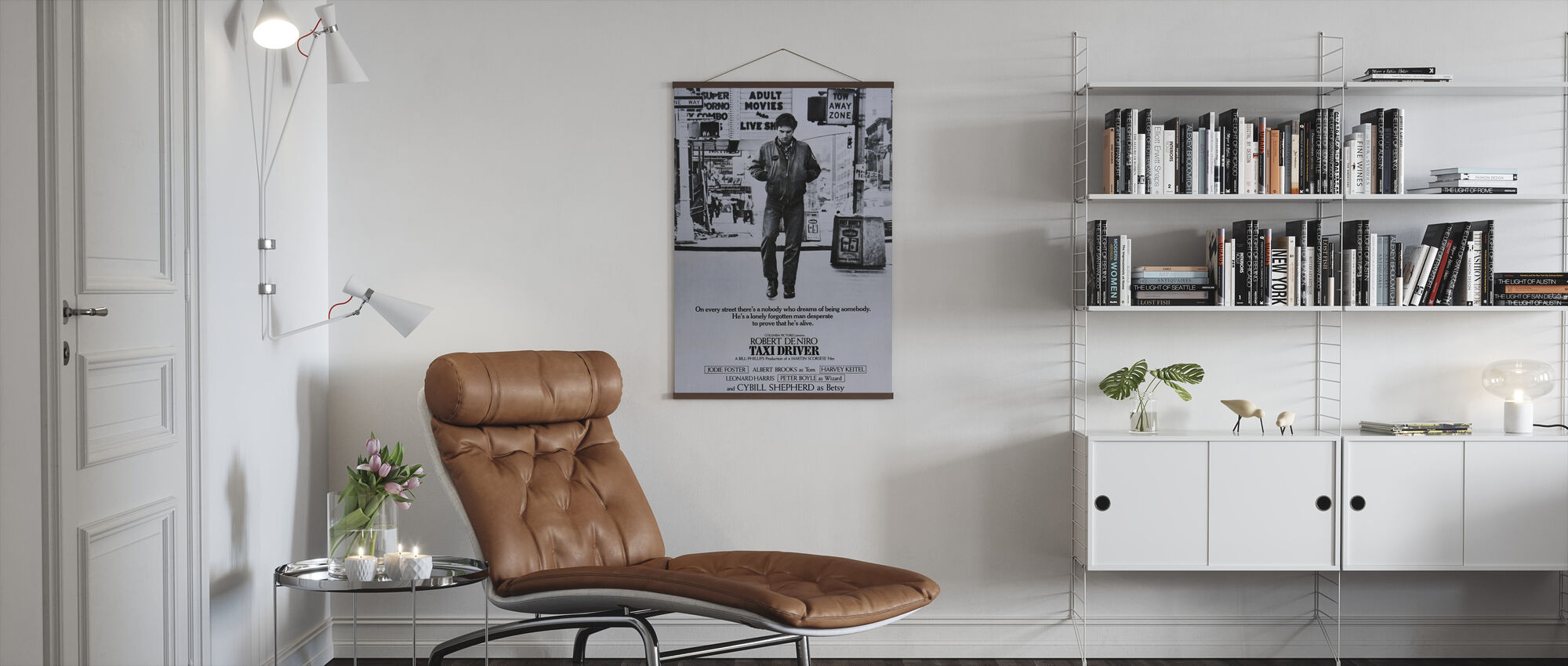 Taxi Driver - Poster - Living Room