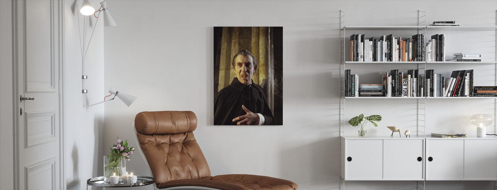 Smaka på blodet av Dracula - Canvastavla - Vardagsrum