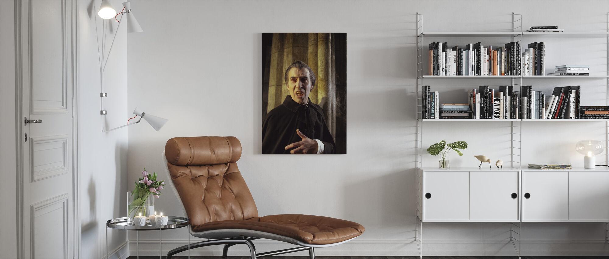 Taste the Blood of Dracula - Canvas print - Living Room