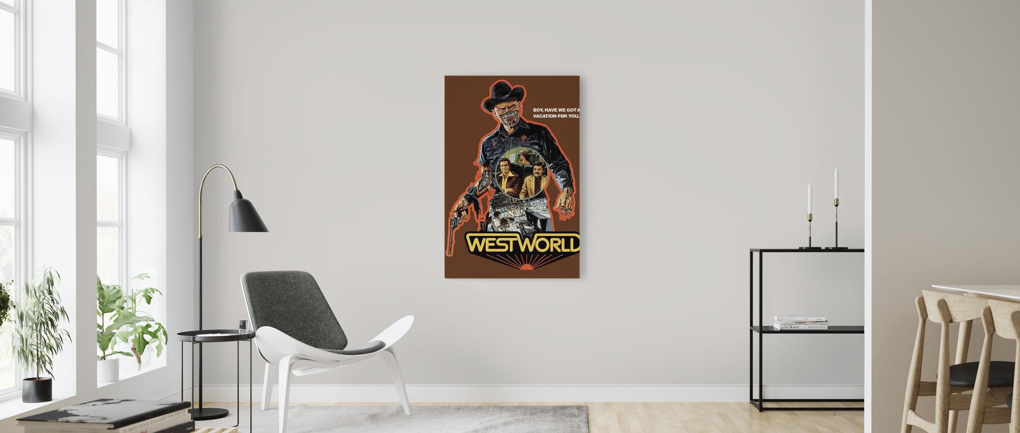 Westworld - Canvas print - Living Room