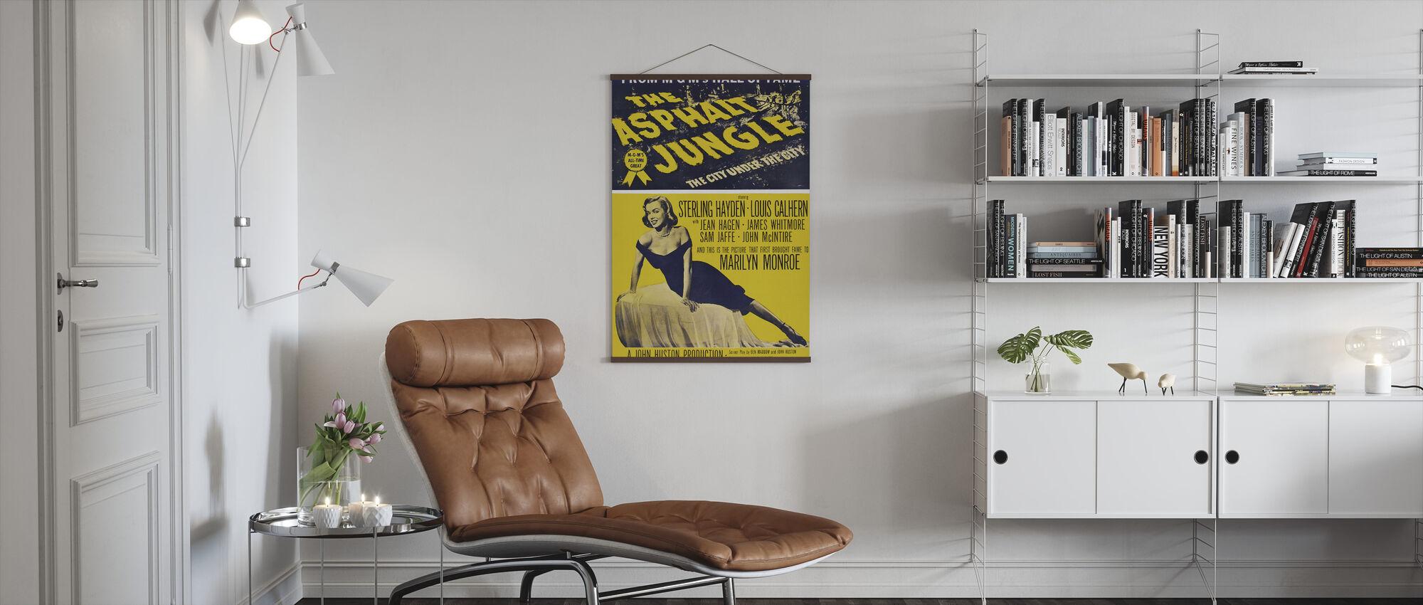 Asphalt Jungle - Poster - Living Room