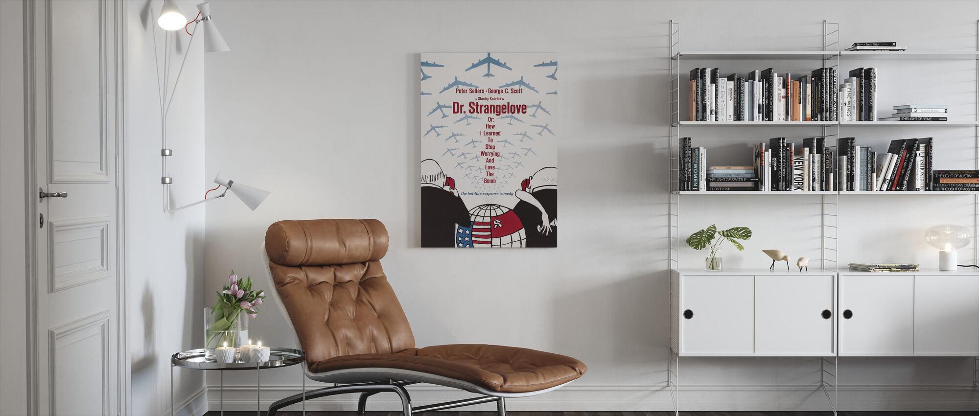 Dr. Strangelove - Canvas print - Living Room