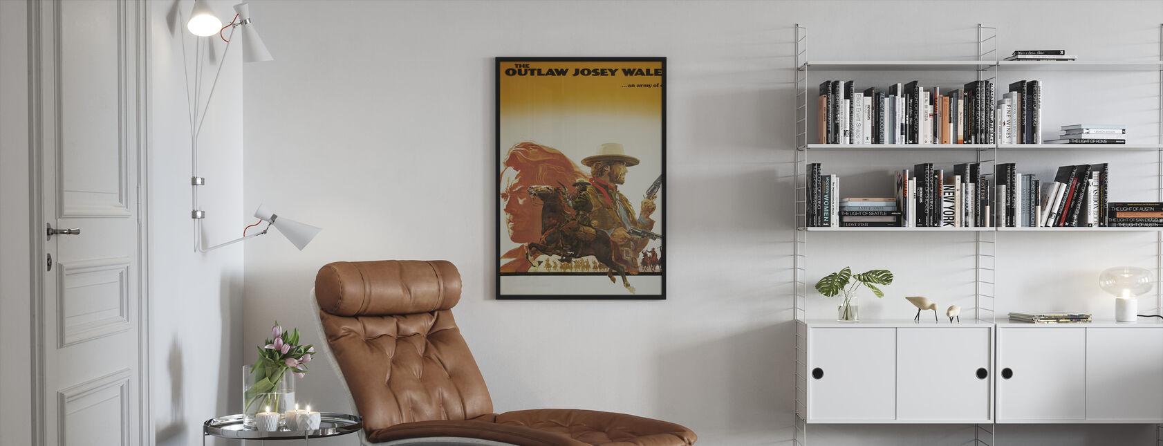 Hors-la-loi Josey Wales - Impression encadree - Salle à manger