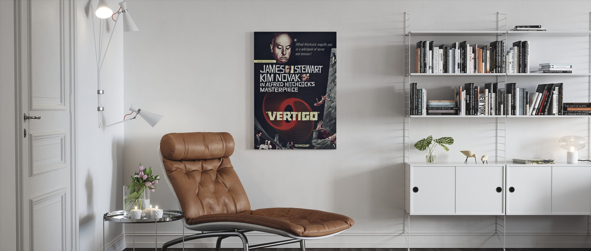 Vertigo - Canvas print - Living Room