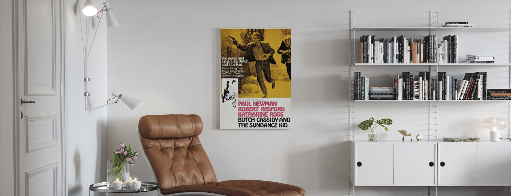 Butch Cassidy and the Sundance Kid - Canvas print - Living Room