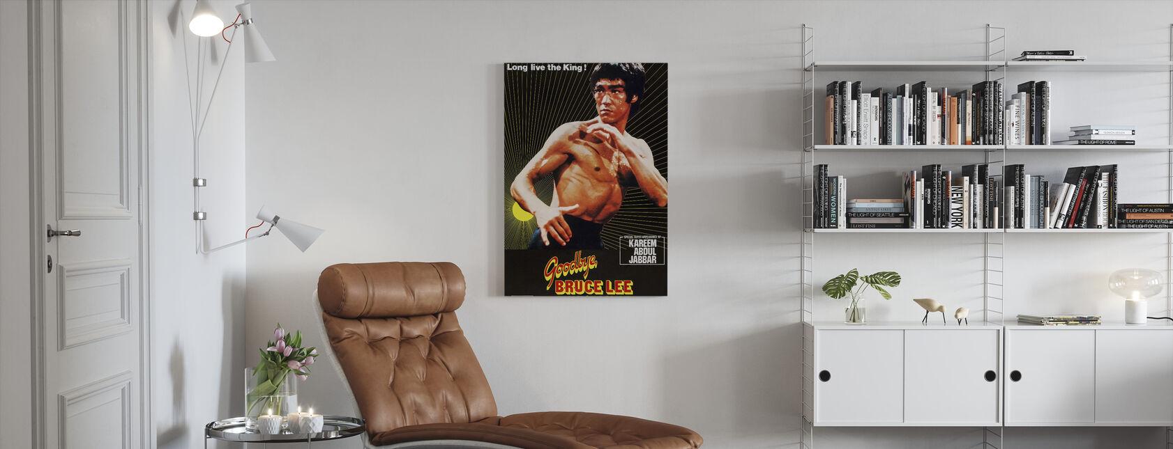 Vaarwel Bruce Lee - Canvas print - Woonkamer