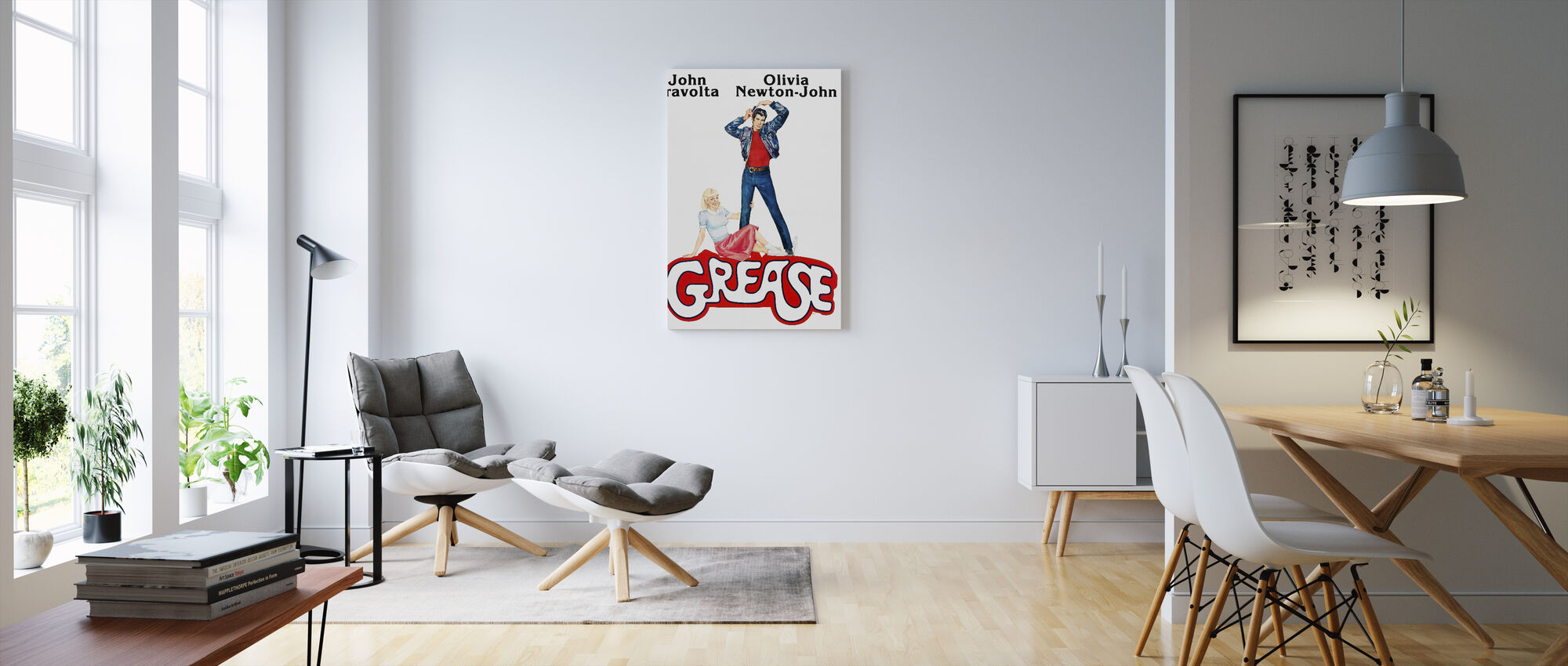 Grease - Canvas print - Living Room