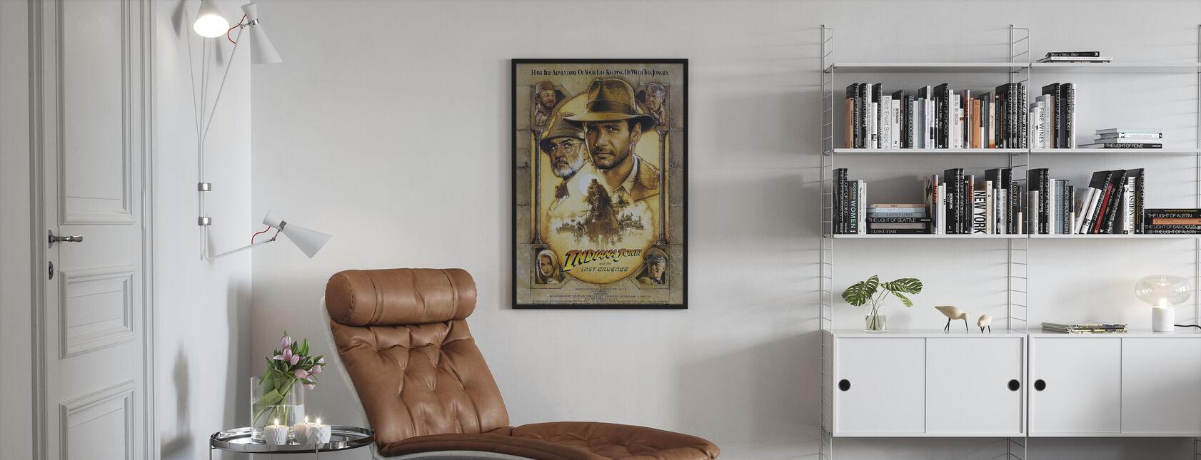 Indiana Jones en de laatste kruistocht - Ingelijste print - Woonkamer