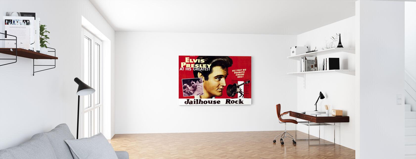 Jailhouse Rock - Canvas print - Office