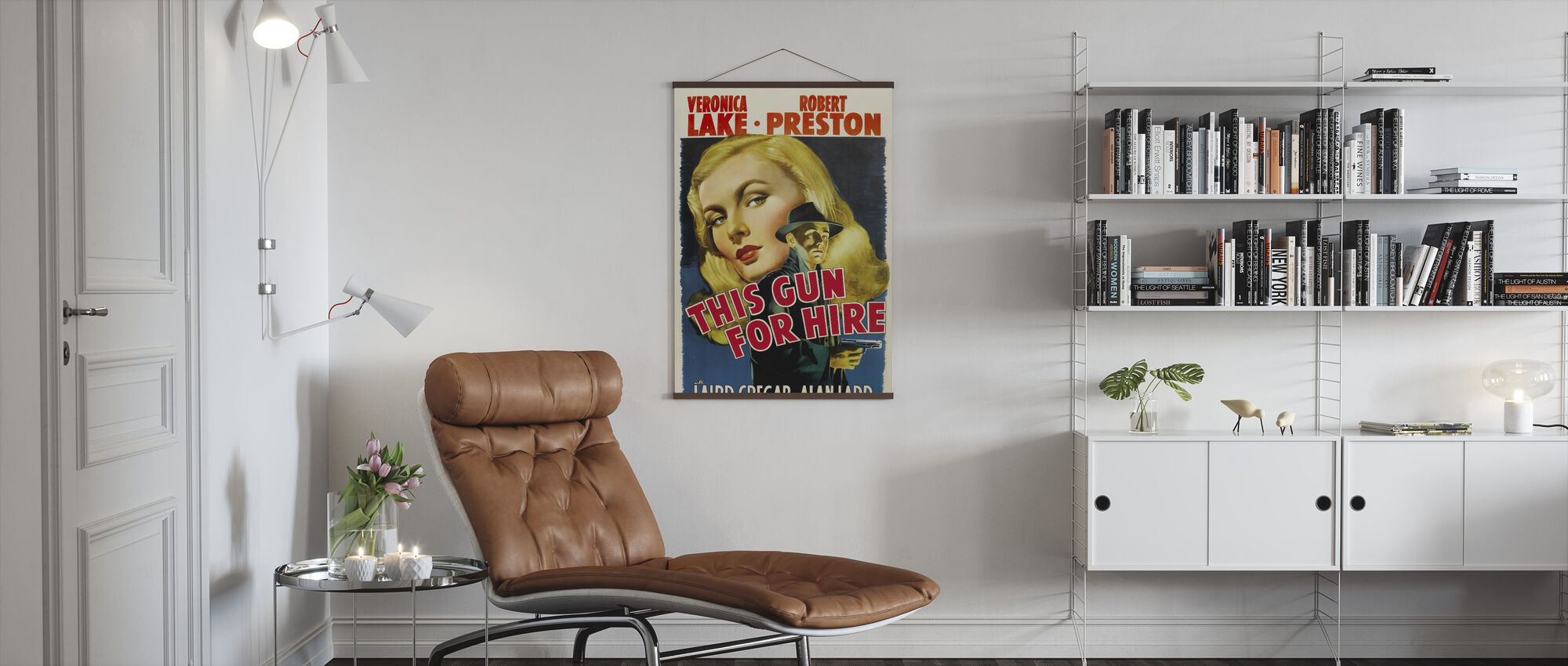 This Gun for Hire - Poster - Living Room