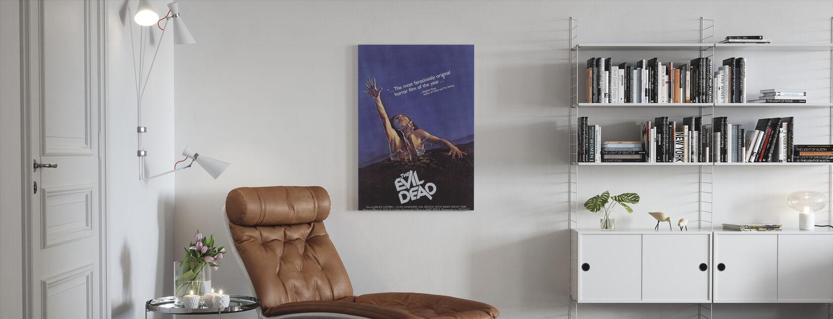 Evil Dead - Canvas print - Living Room