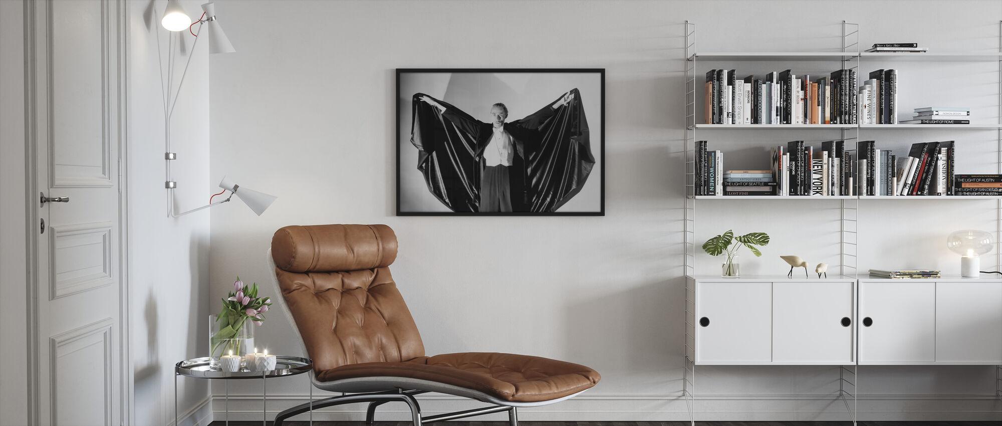House of Dracula II - Framed print - Living Room