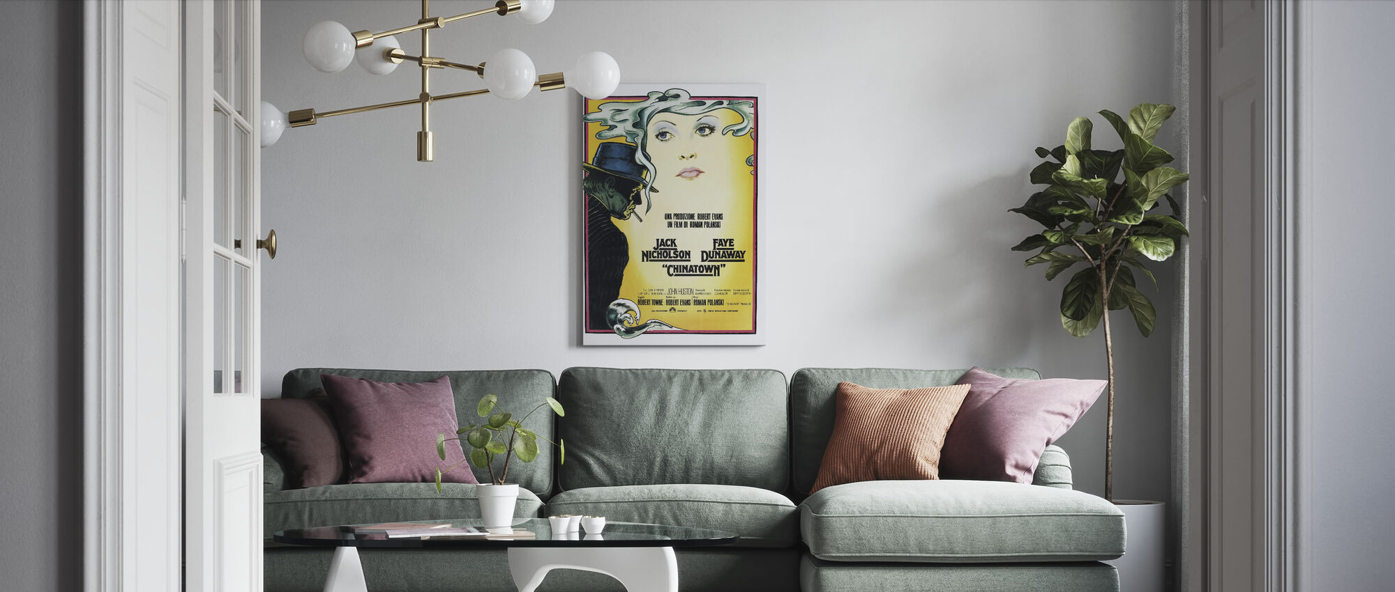 Chinatown - Canvas print - Living Room