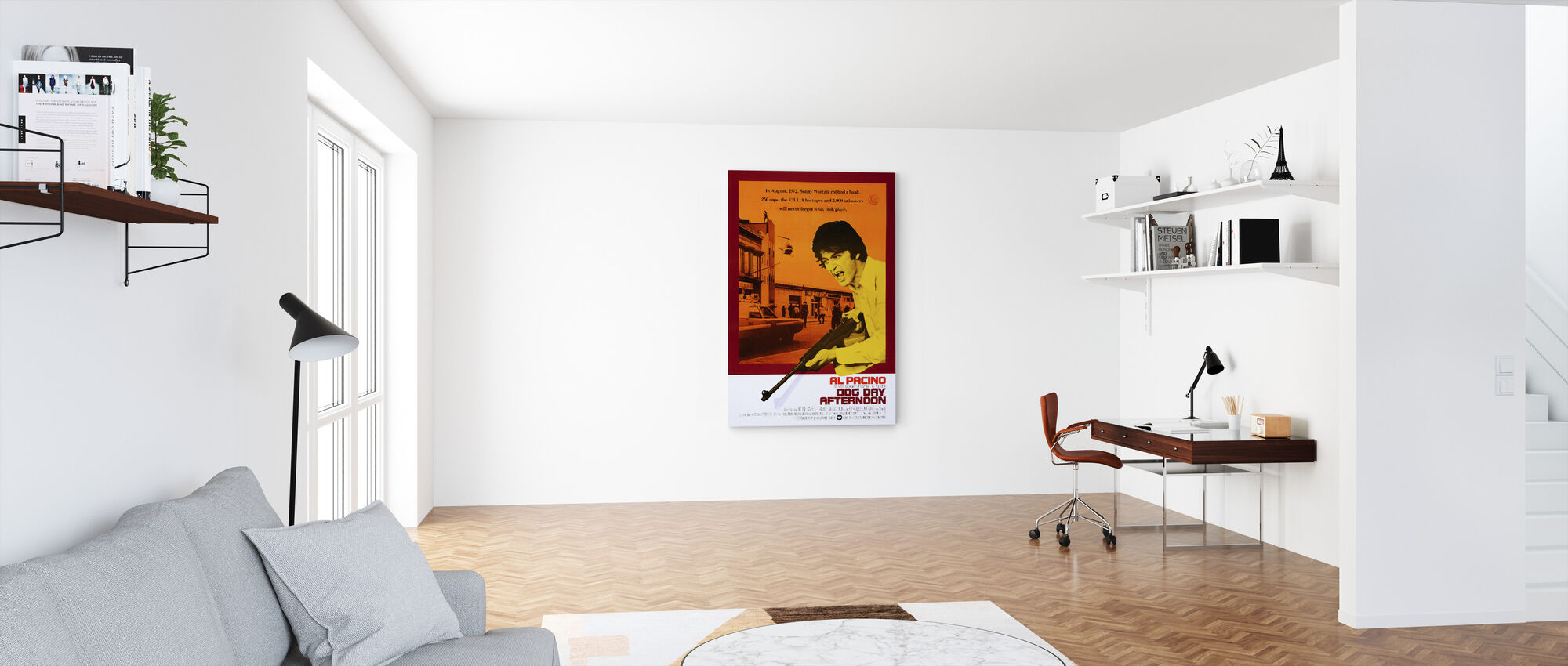 Dog Day Afternoon - Canvas print - Office