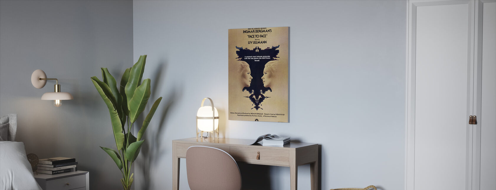Face to Face - Canvas print - Office
