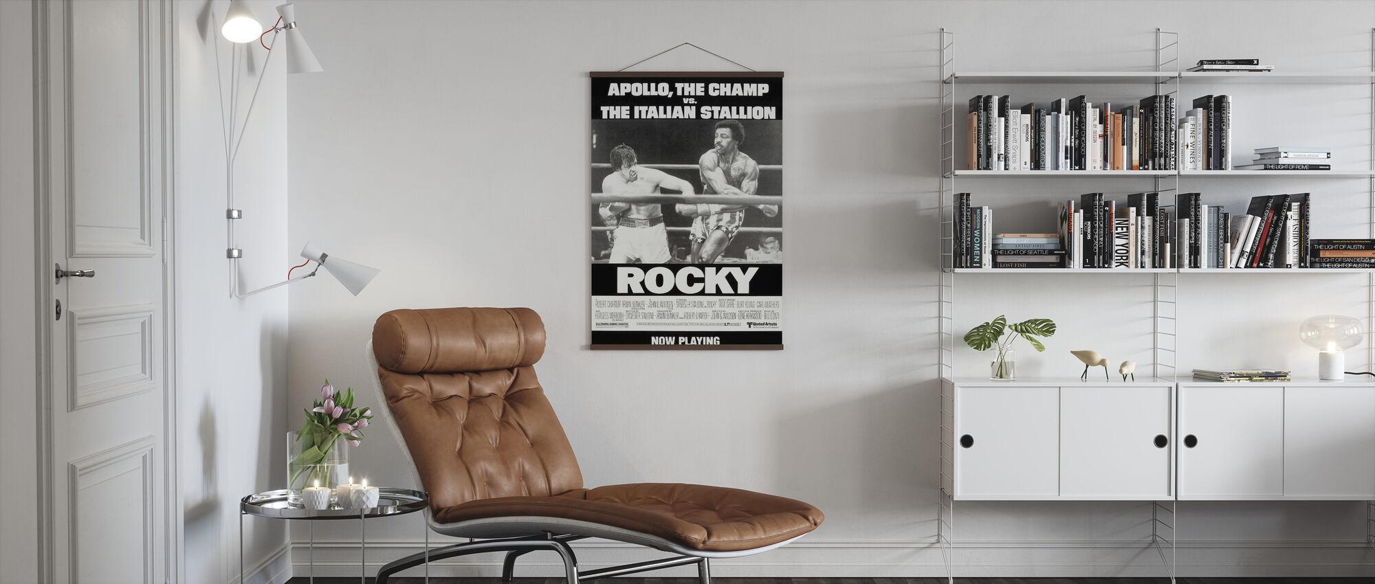 Stenig - Poster - Vardagsrum