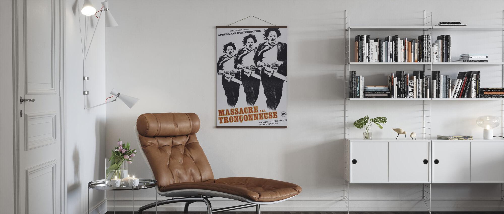 Texas Chainsaw Massacre II - Poster - Living Room