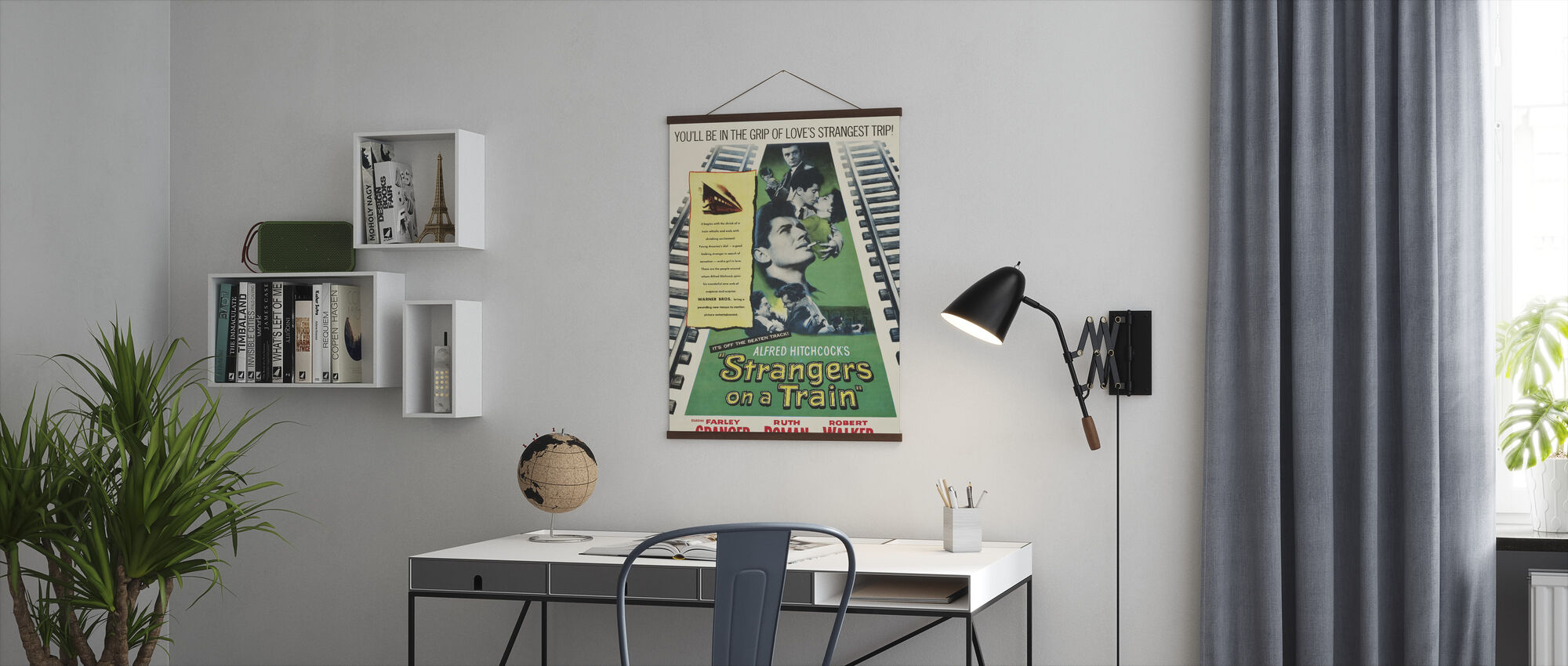Strangers on a Train - Poster - Office