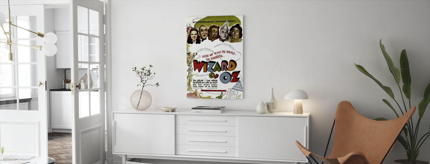Wizard of Oz - Canvas print - Living Room