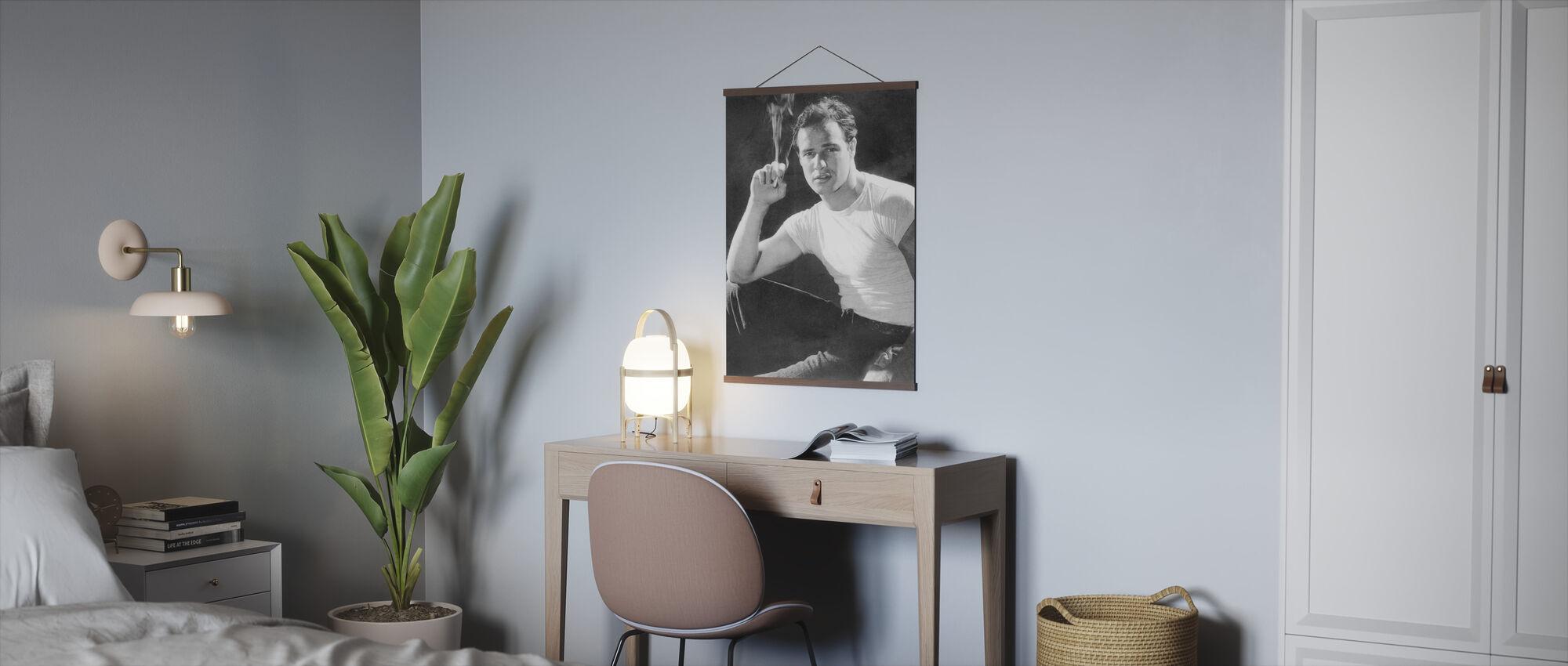 Marlon Brando - Poster - Office