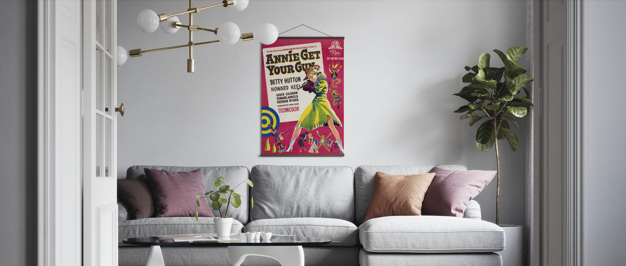 Annie Get Your Gun II - Poster - Living Room