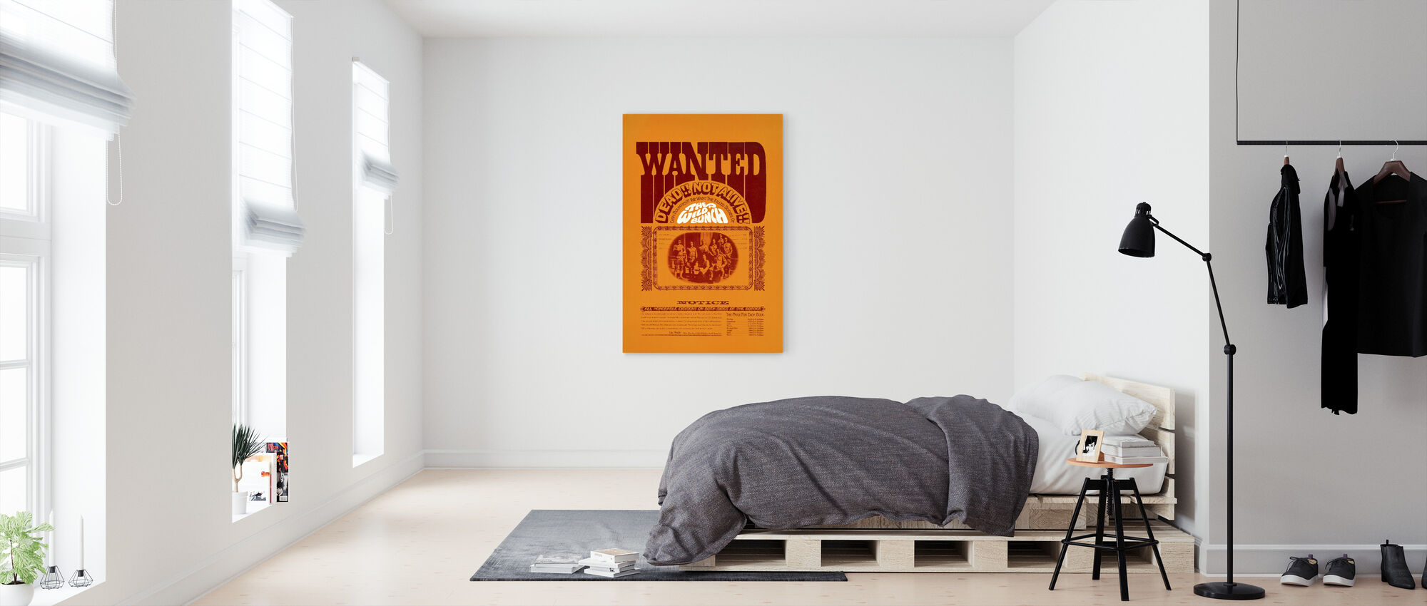 Wild Bunch II - Canvas print - Bedroom
