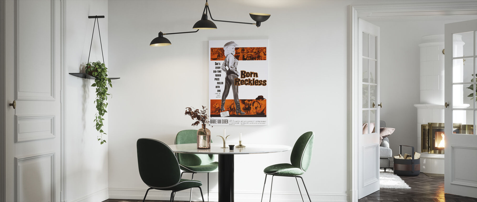 Born Reckless - Canvas print - Kitchen