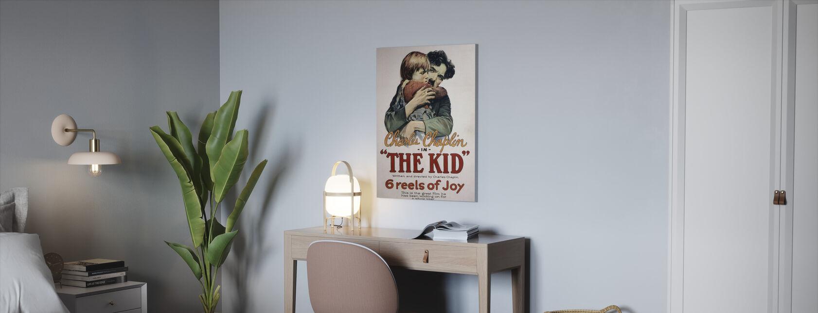 Jongen - Canvas print - Kantoor