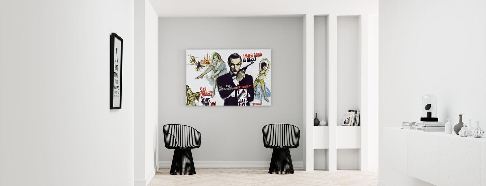 Uit Rusland met Liefde - Canvas print - Gang