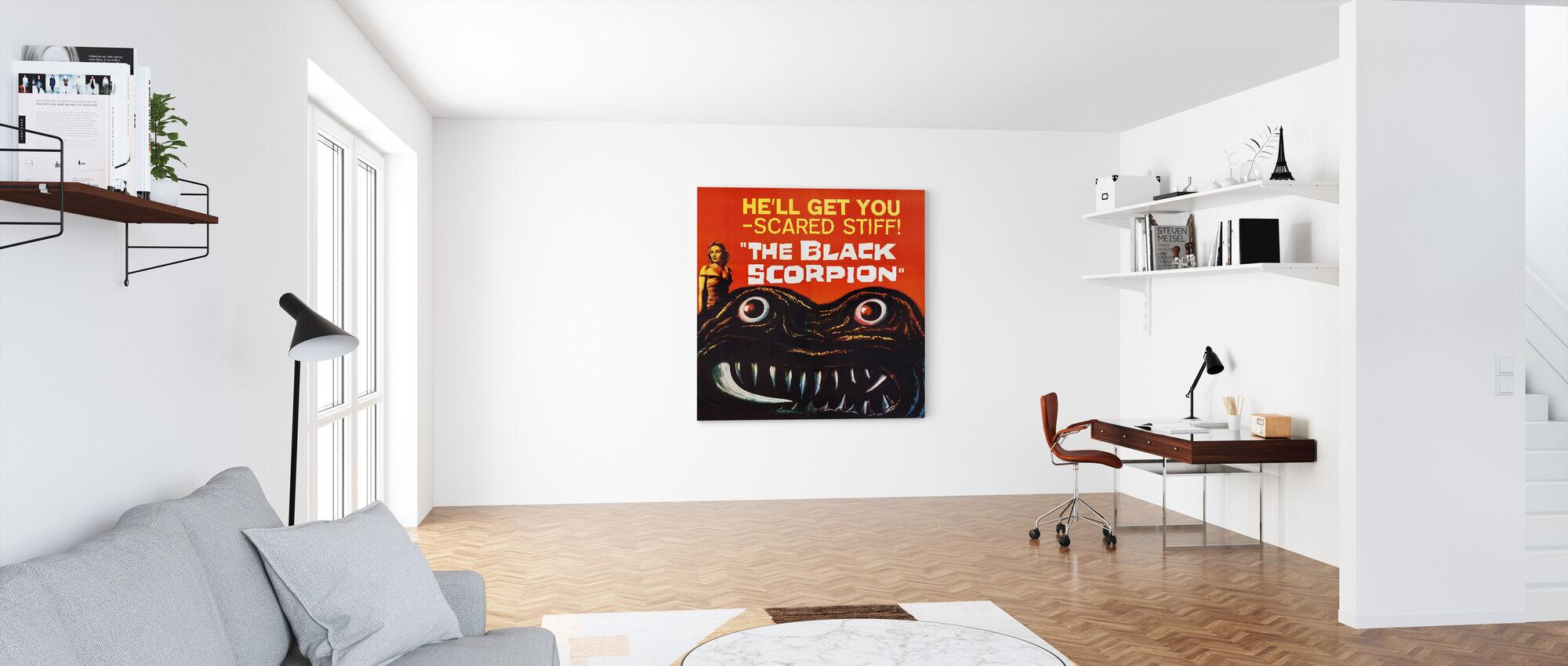 Black Scorpion - Canvas print - Office