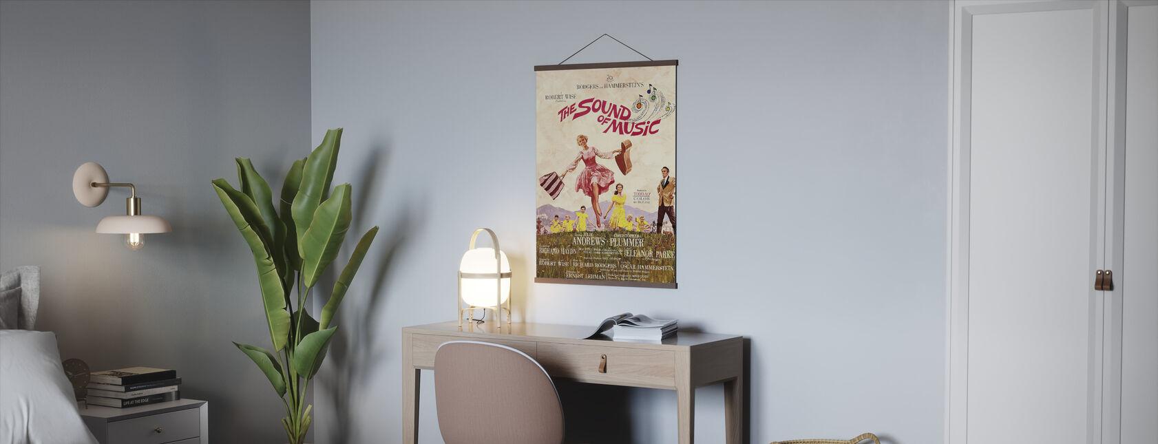 Lyden av musikk - Plakat - Kontor
