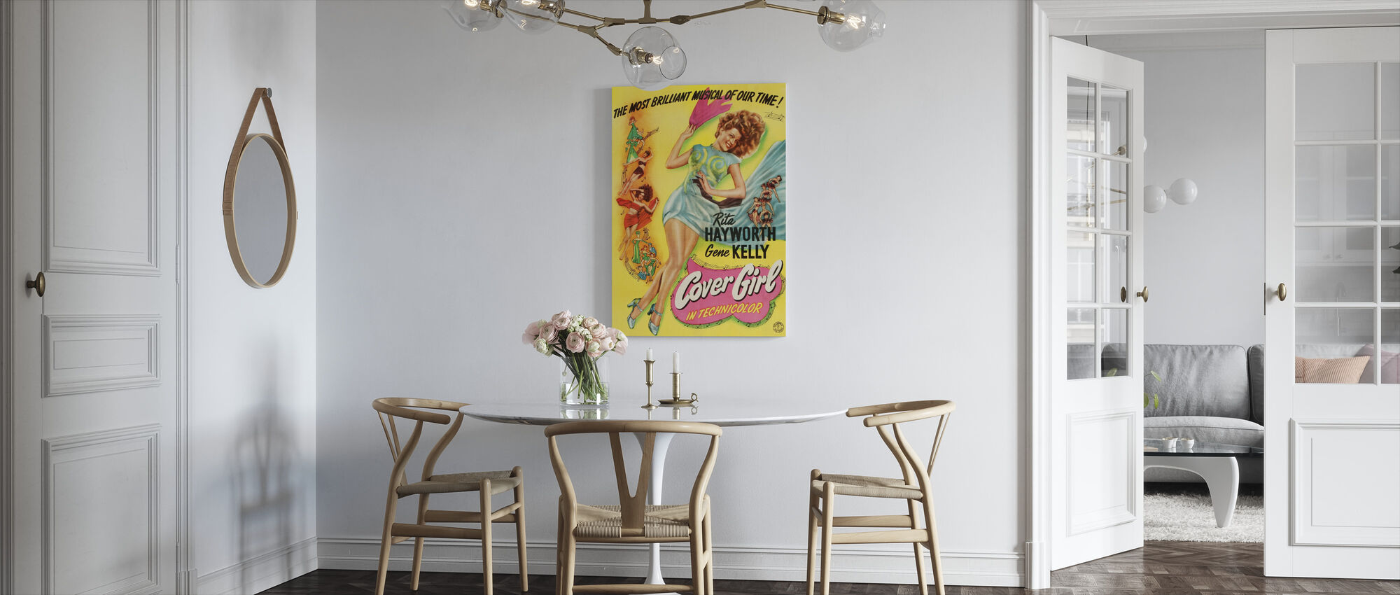 Cover Girl - Canvas print - Kitchen