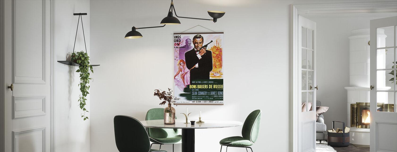 Fra Russland med kjærlighet - Plakat - Kjøkken