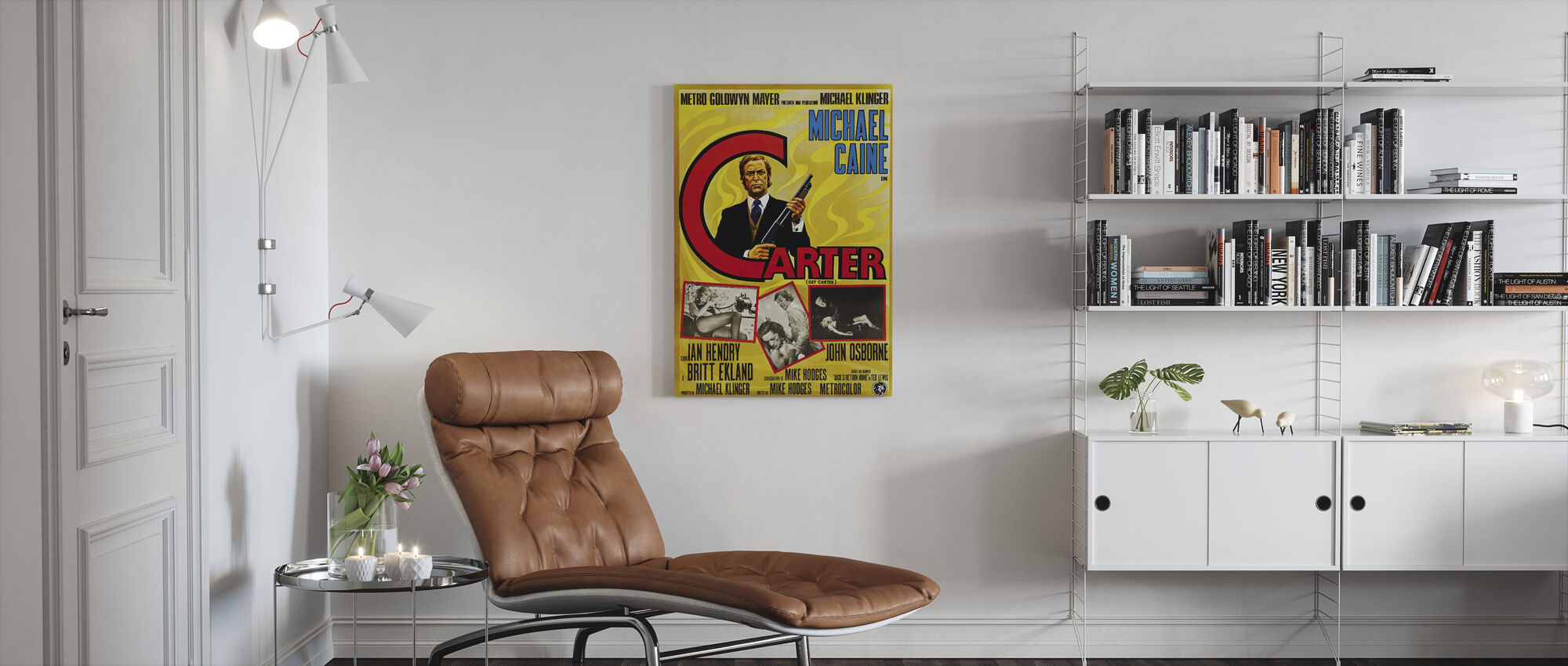 Haal Carter - Canvas print - Woonkamer