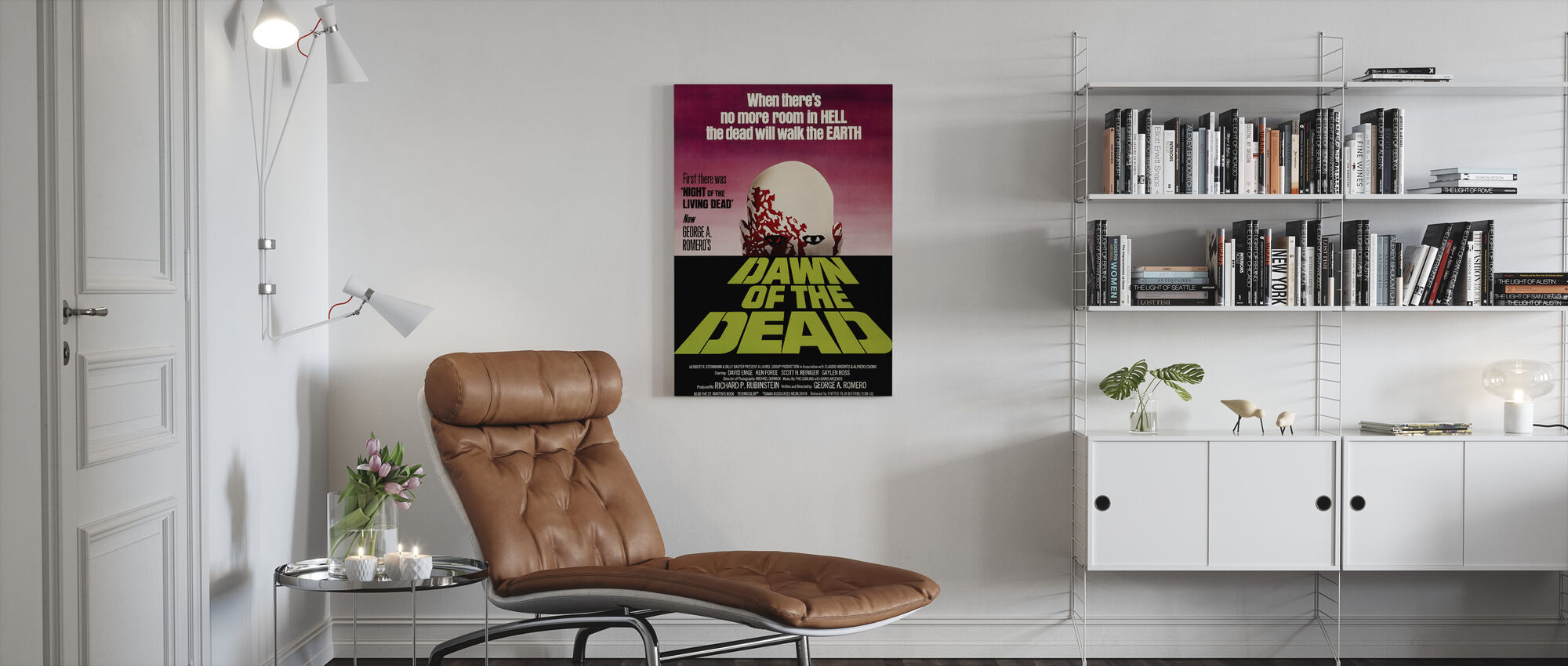 Dawn of the Dead - Canvas print - Living Room