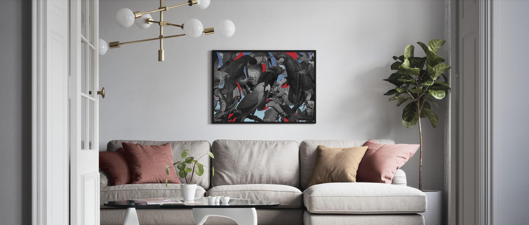 Familieportrett - Polka - Innrammet bilde - Stue