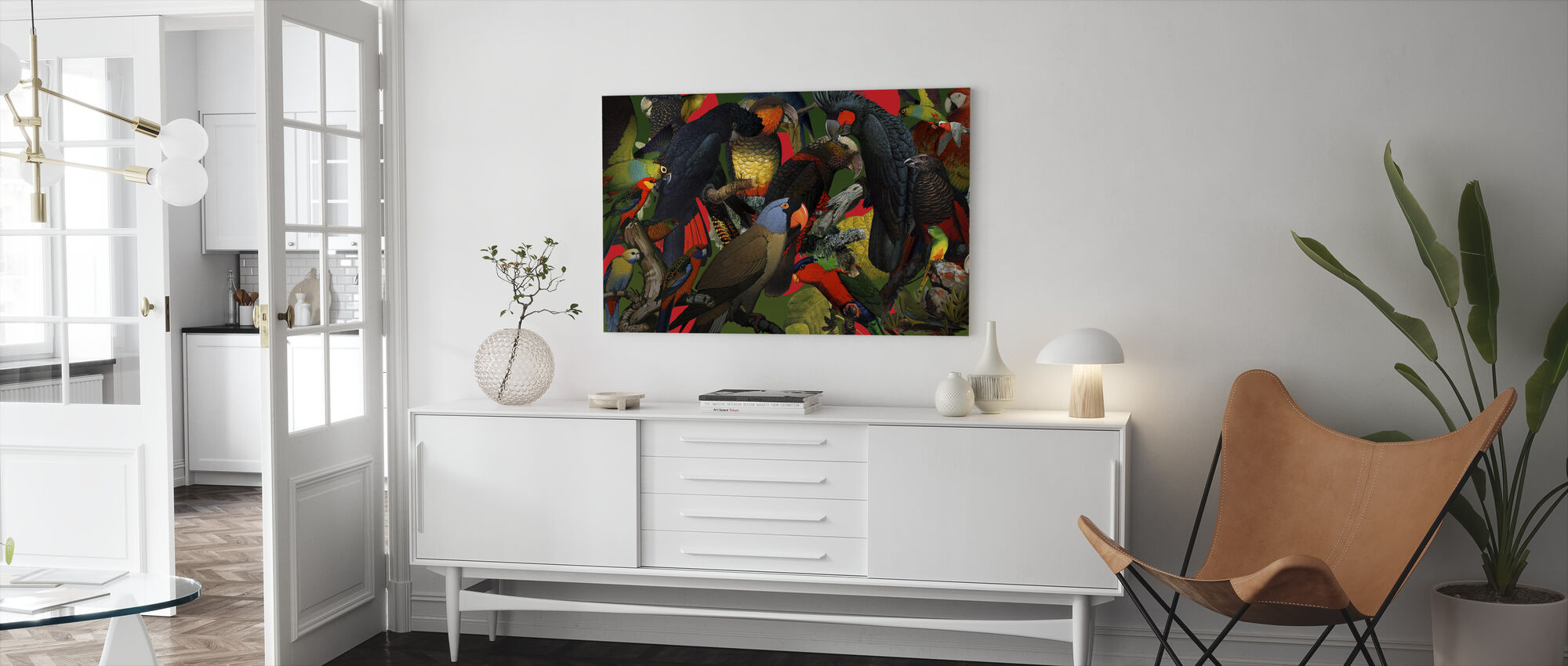 Family Portrait - Steinberg - Canvas print - Living Room