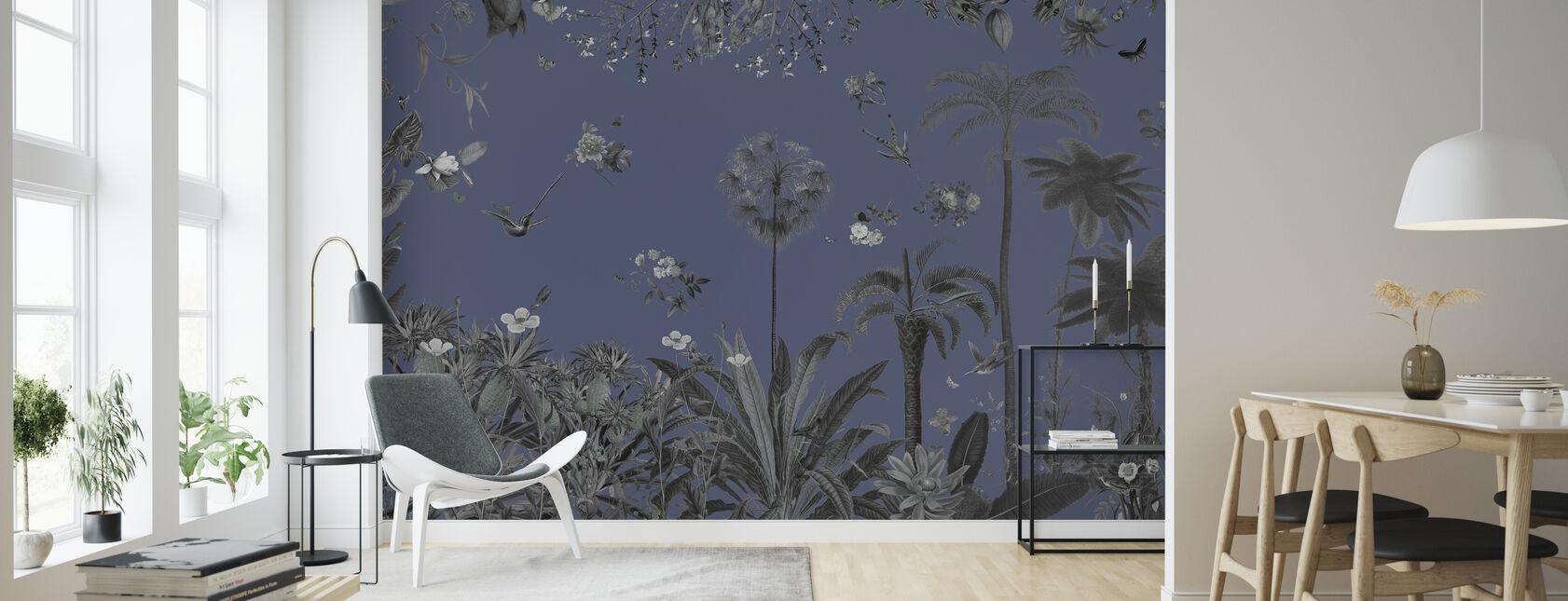Thriver - Night - Wallpaper - Living Room