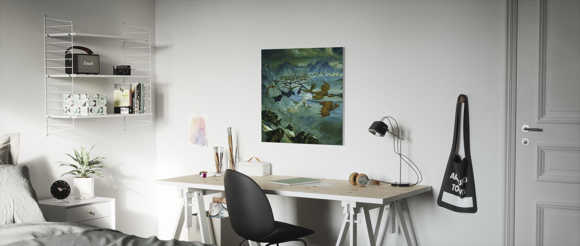 Turn - Canvas print - Kids Room