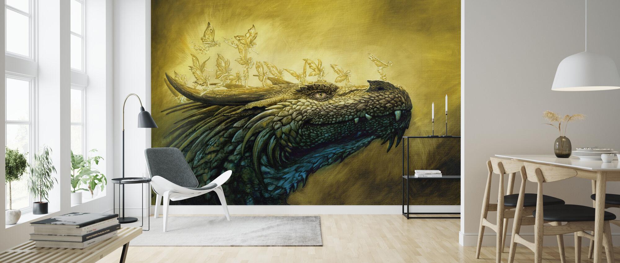Ruval Hadas - Wallpaper - Living Room