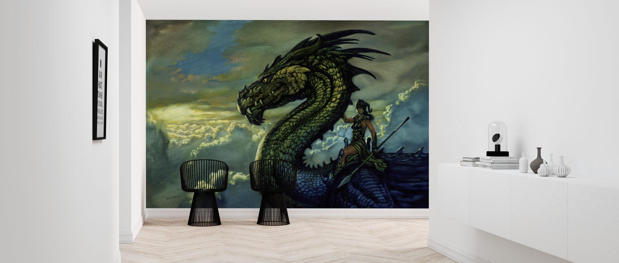 Rider - Wallpaper - Hallway