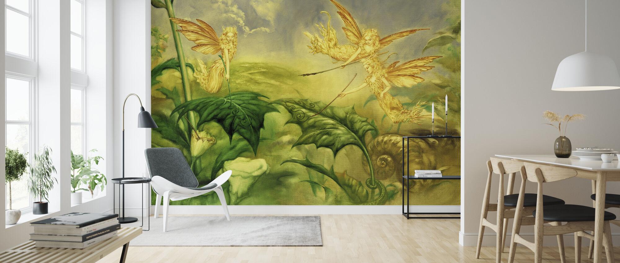 Fairies - Wallpaper - Living Room