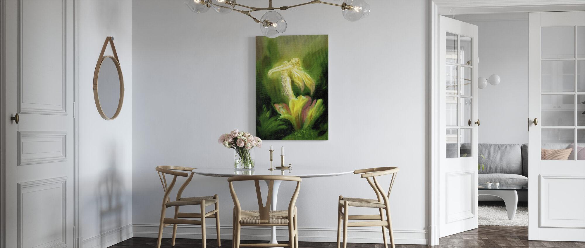 Fairy Blomst - Lerretsbilde - Kjøkken