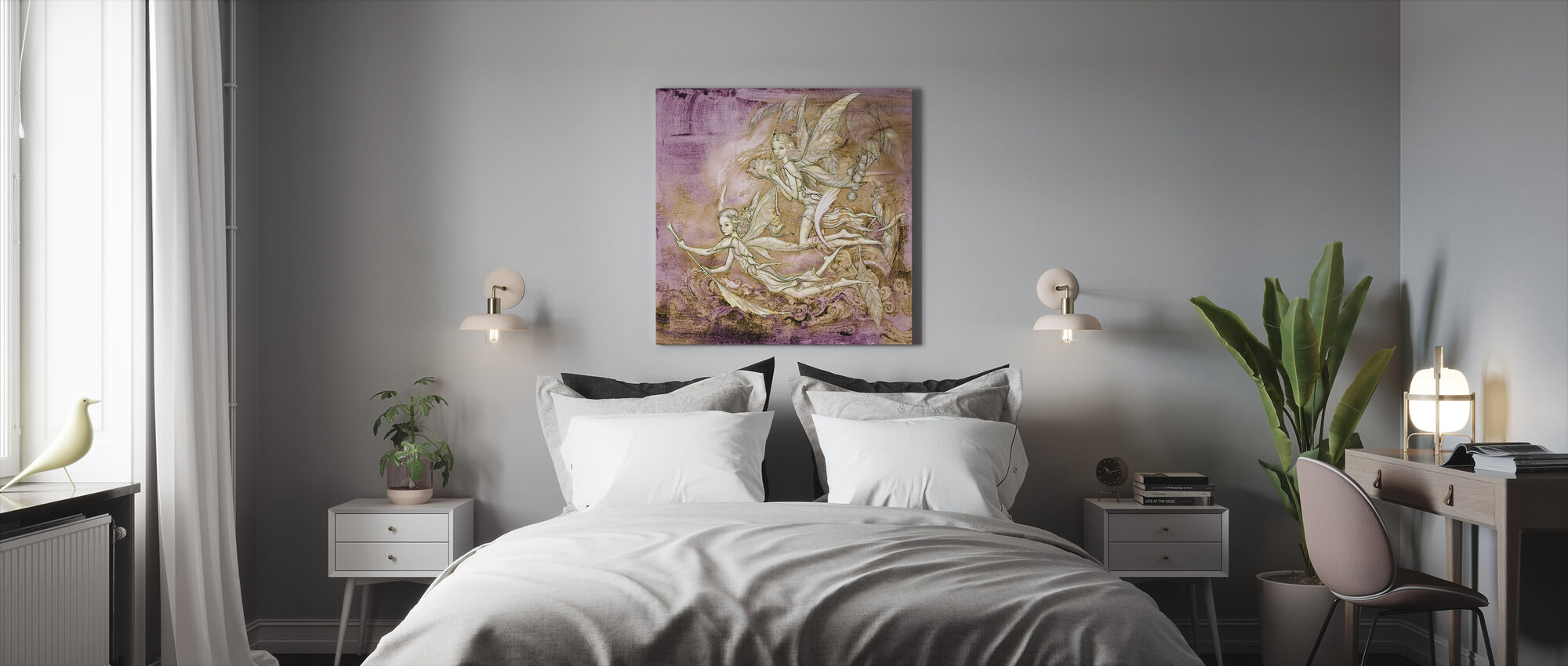Hadas - Canvas print - Bedroom